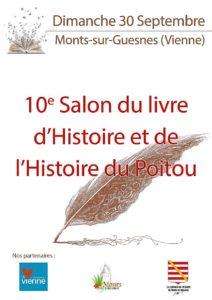 Salon du livre d'histoire Monts-sur-Guesnes @ Château