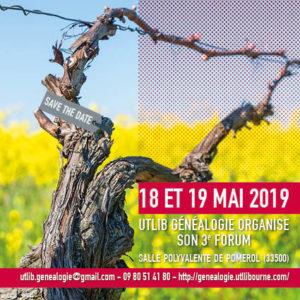 3e forum de généalogie en Libournais @ Salle polyvalente